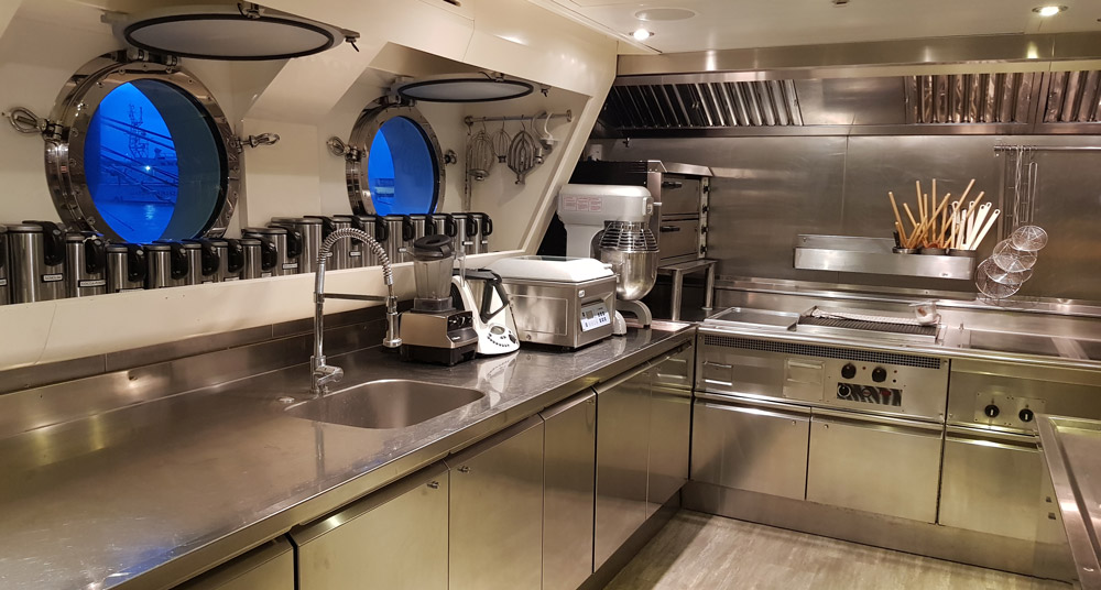 maintenance reparation grandes cuisines yacht